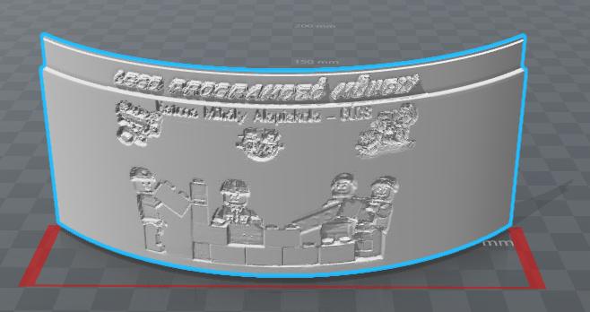 Képből átvilágítható dombornyomatok