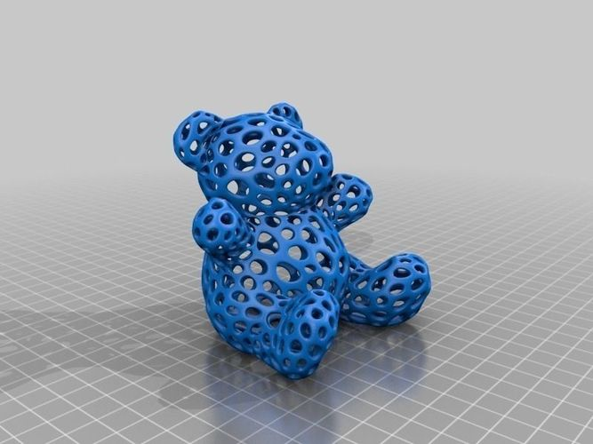 Voronoi hálós 3D objektumok létrehozása