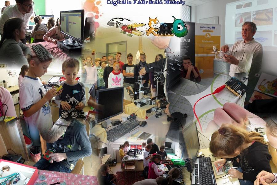 A Digitális FABrikáló Műhely EU Programozás Hete