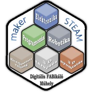 3Dmaker feher kocka