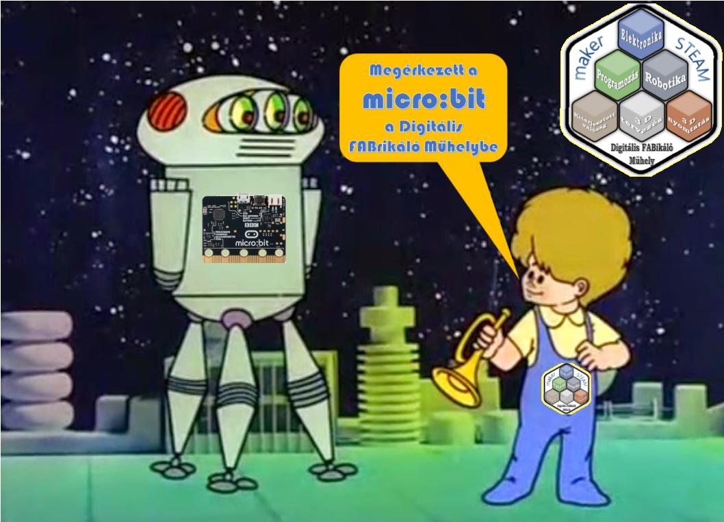 Micro:bit a műhelyünk szolgálatában