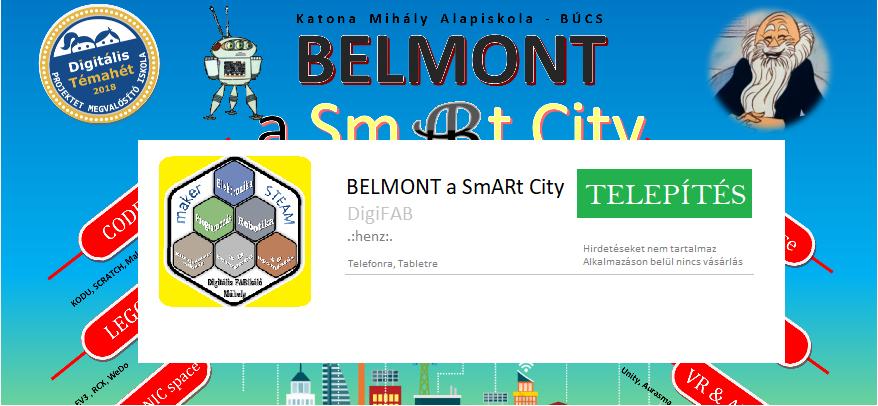 BELMONT SmARt City APP